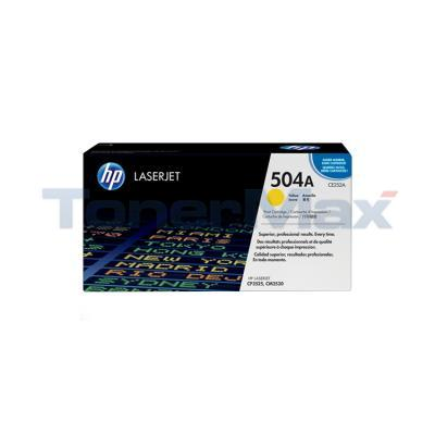HP CLJ CM3530 CP3525N PRINT CTG YELLOW